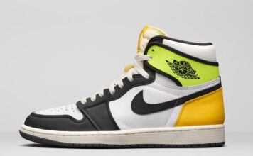 Air Jordan 1 White Volt University Gold 555088-118 Release Price