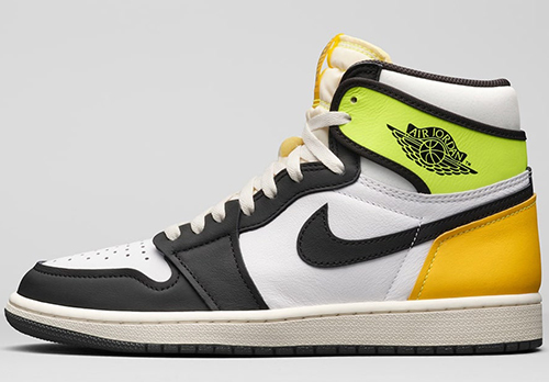 Air Jordan 1 White Volt University Gold Release Date