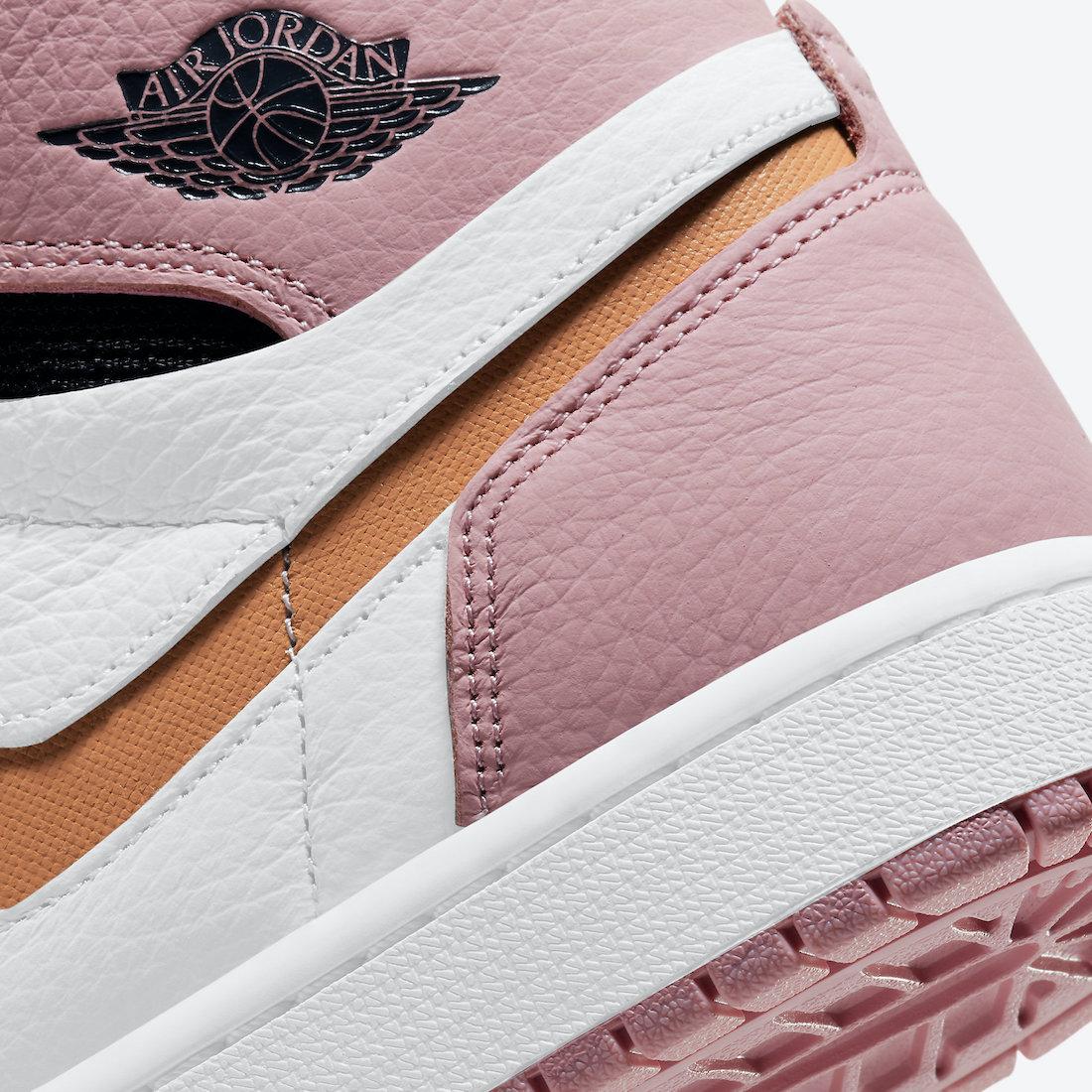 Air Jordan 1 Zoom Comfort Pink Glaze CT0979-601 Release Date Info