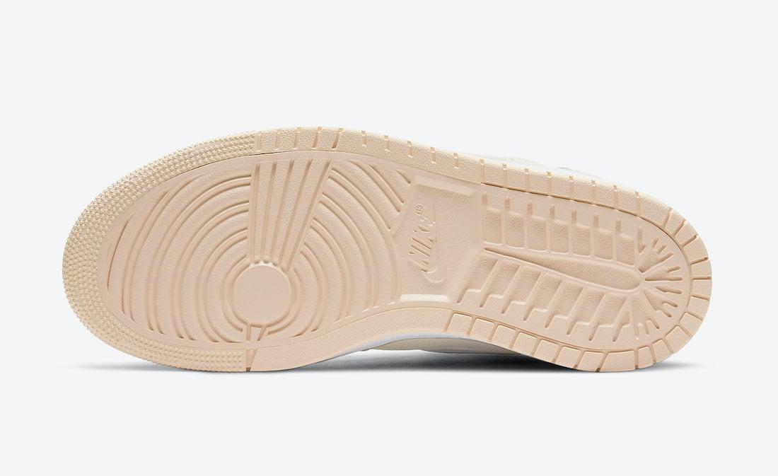 Air Jordan 1 Zoom Comfort Sail Pearl White CT0979-107 Release Date Info