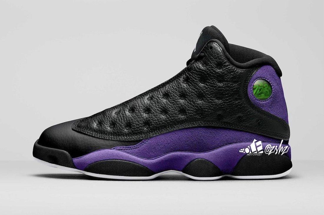 Air Jordan 13 Court Purple DJ5982-015 Release Date Info