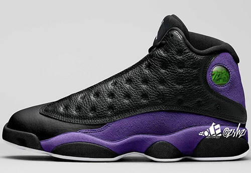 Air Jordan 13 Court Purple Release Date