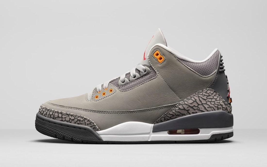 Air Jordan 3 Cool Grey CT8532-012 Release Date