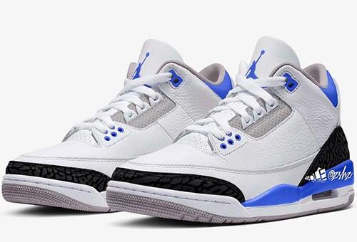 Air Jordan 3 Racer Blue Release Date
