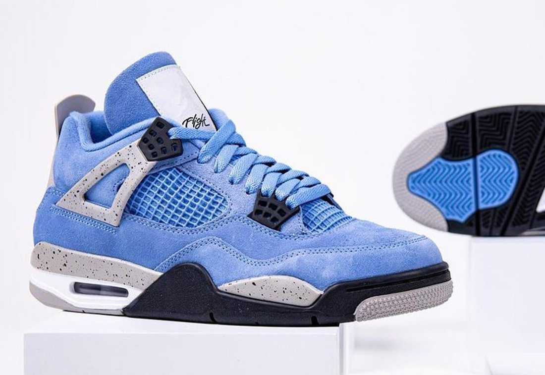 Air Jordan 4 University Blue CT8527-400 Release Info Price
