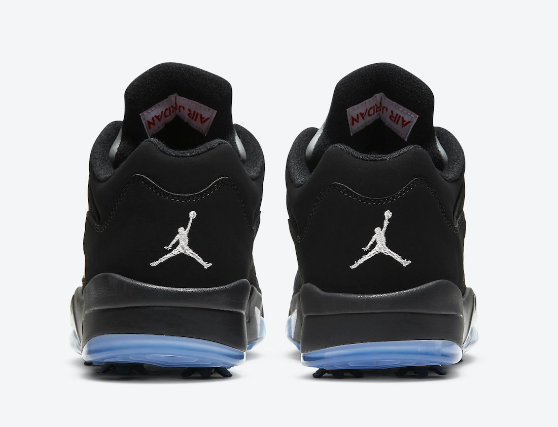 Air Jordan 5 Low Golf Black Metallic CU4523-003 Release Date Info