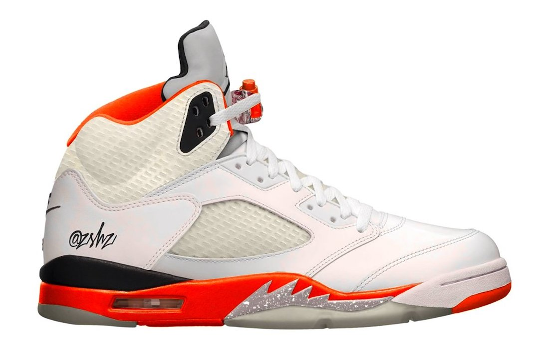 Air Jordan 5 Orange Blaze DC1060-100 Release Date Info