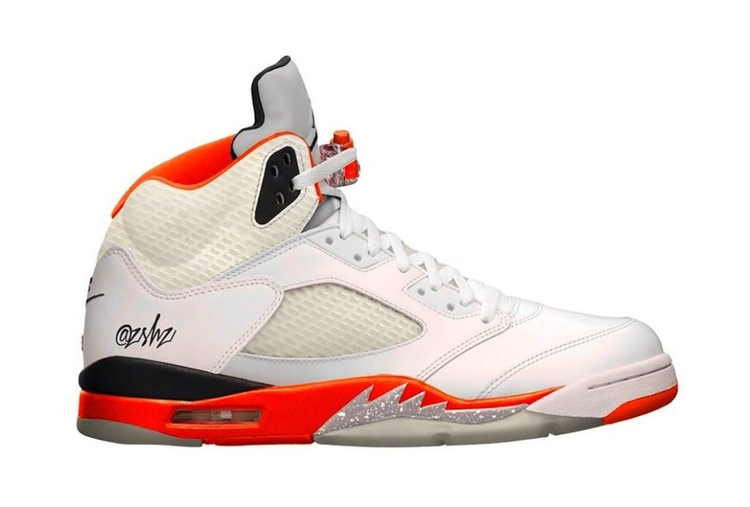 Air Jordan 5 Orange Blaze DC1060-100