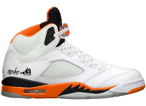 Air Jordan 5 White Total Orange Release Date