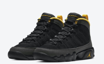 Air Jordan 9 GS University Gold 302359-070 Release Date