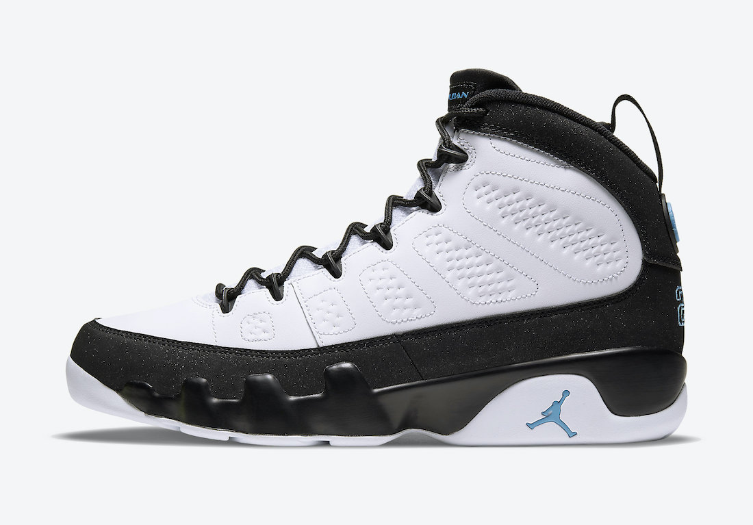 Air Jordan 9 University Blue CT8019-140 Release Info Price