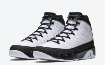 Air Jordan 9 University Blue CT8019-140 Release Info Price