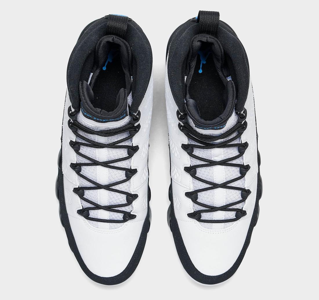 Air Jordan 9 University Blue CT8019-140 Release Price