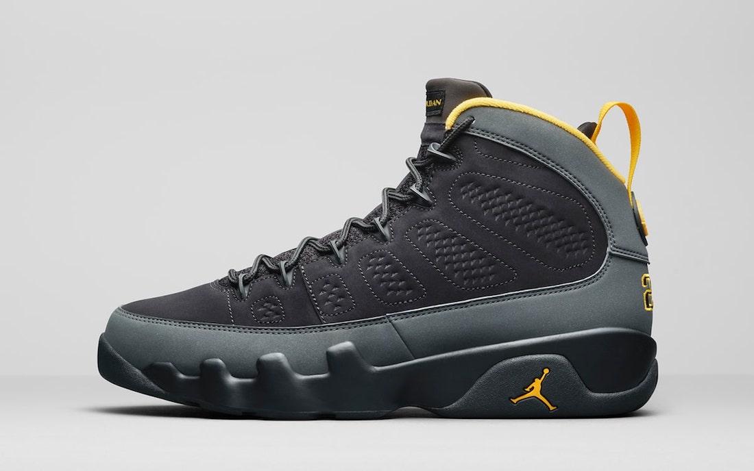 Air Jordan 9 University Gold CT8019-070 Release Date