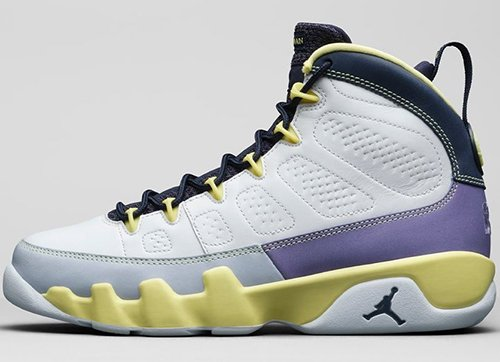 Air Jordan 9 White Cactus Flower Desert Berry Release Date