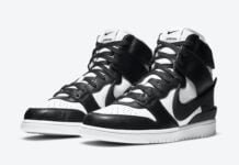 Ambush Nike Dunk High Black White CU7544-001 Release Date