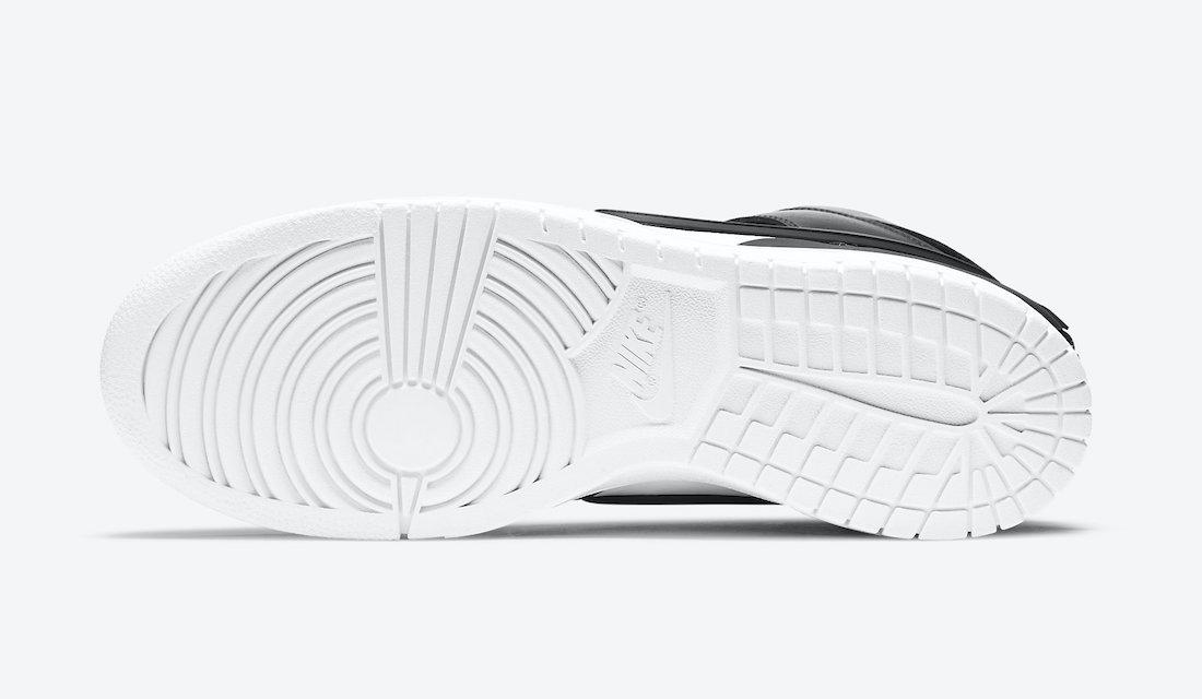 Ambush Nike Dunk High Black White CU7544-001 Release Date