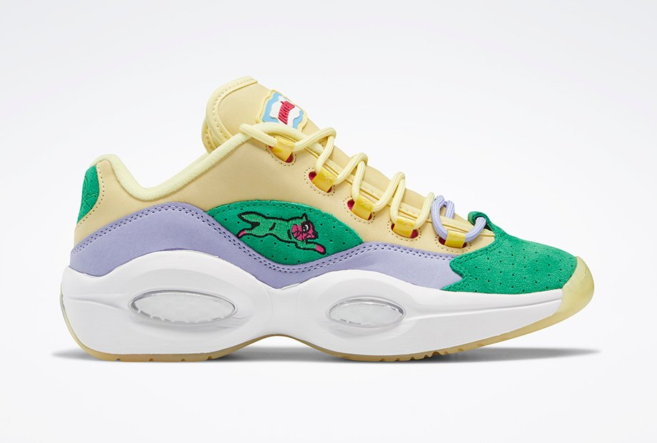 BBC Ice Cream Reebok Question Low FZ4345 Release Date Info