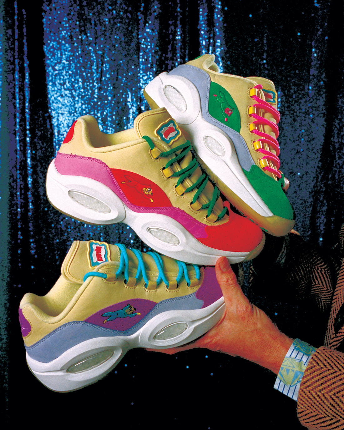 BBC Ice Cream Reebok Question Low Running Dog Release Date