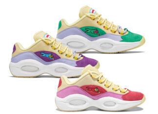 BBC Ice Cream Reebok Question Low Running Dog Release Date Info