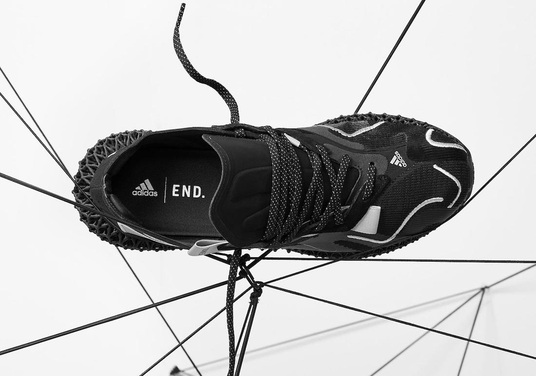 END adidas EVO 4D Dark Matter FX0549 Release Date Info