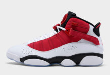 Jordan 6 Rings White Black Red 322992-106 Release Date Info