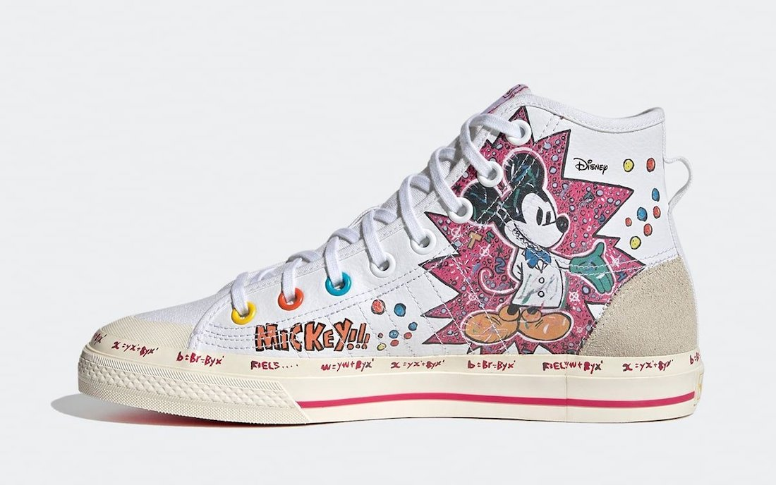 Kasing Lung Mickey Mouse adidas Nizza GZ8838 Release Date Info