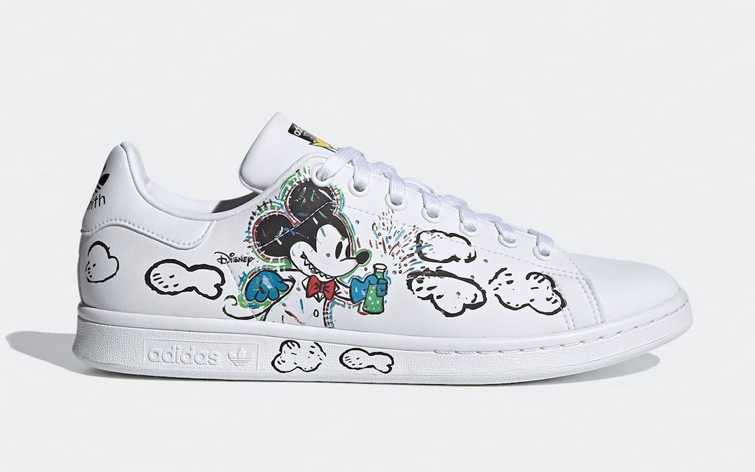 Kasing Lung Mickey Mouse adidas Stan Smith GZ8841 Release Date Info