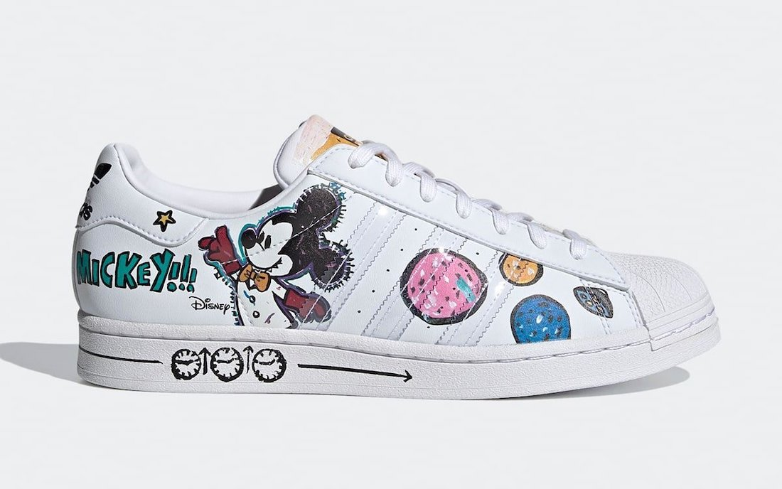 Kasing Lung Mickey Mouse adidas Superstar GZ8839 Release Date Info