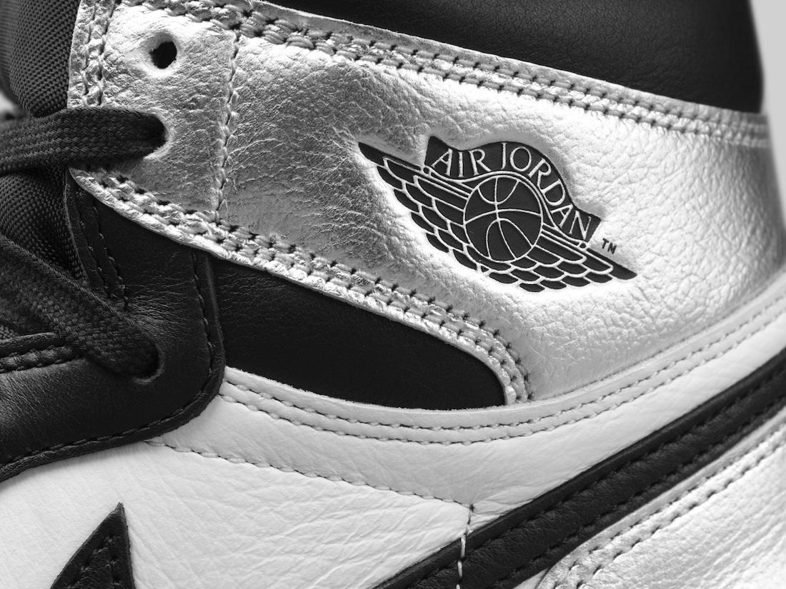 Metallic Silver Toe Air Jordan 1 Womens CD0461-001 Release Date
