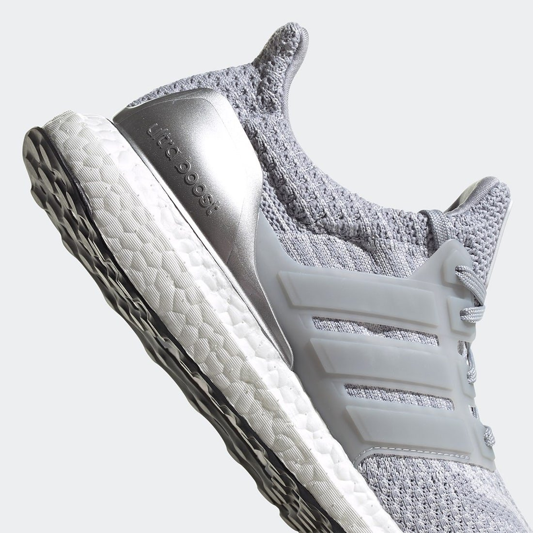 NASA adidas Ultra Boost DNA Halo Silver FX7972 Release Date Info
