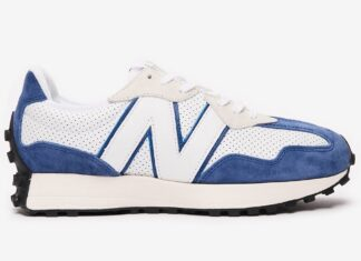 New Balance 327 Perforated Pack Blue Release Date Info