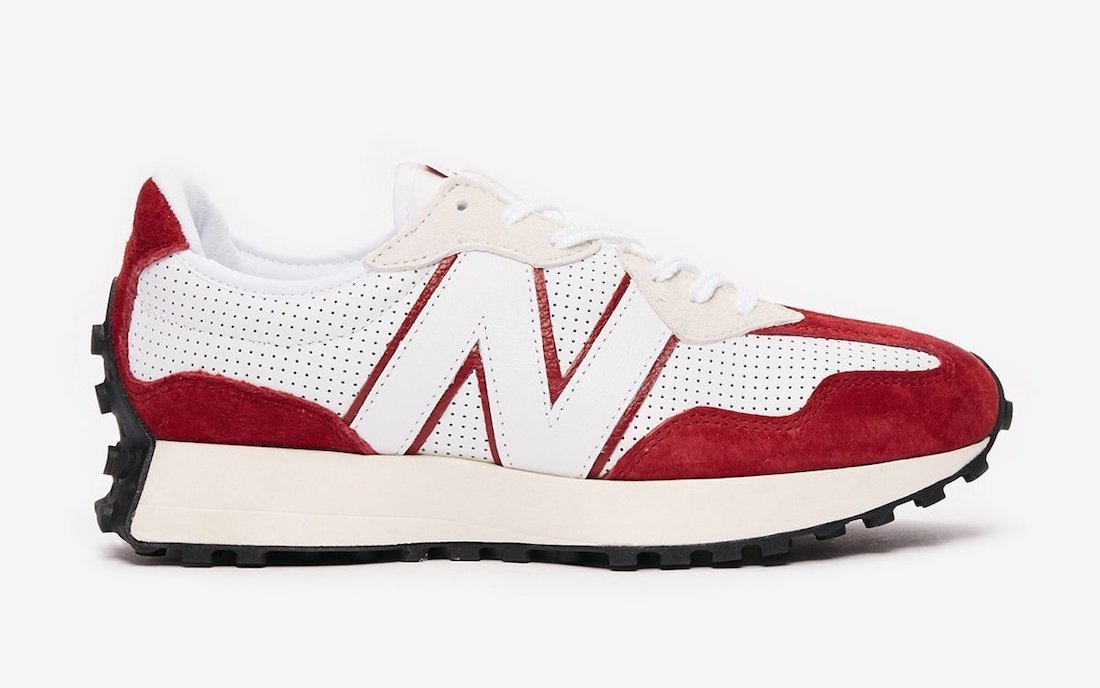 New Balance 327 Perforated Pack Red Release Date Info
