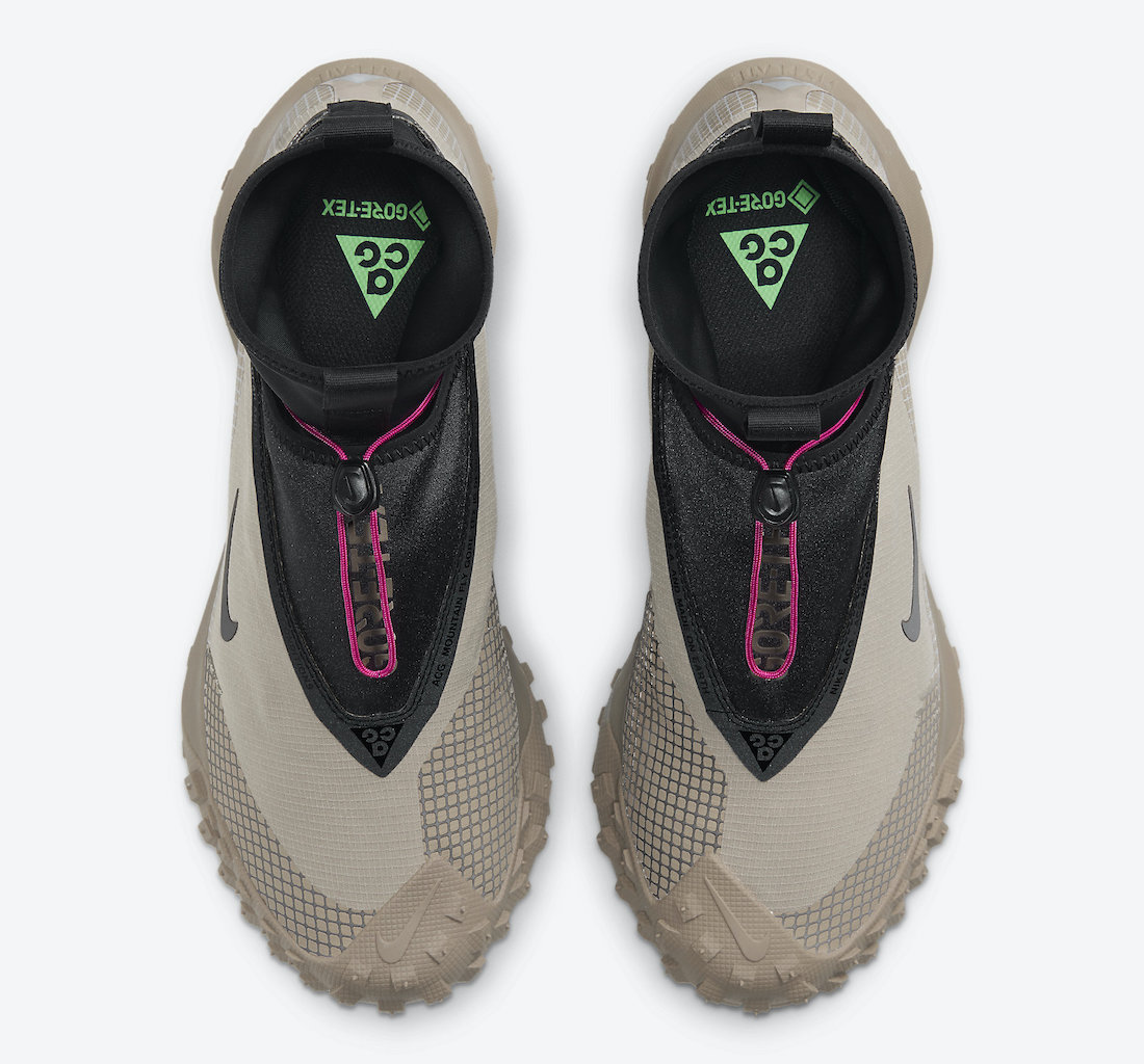 Nike ACG Mountain Fly GORE-TEX Khaki CT2904-200 Release Date Info