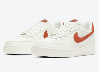 Nike Air Force 1 07 Craft Mantra Orange CV1755-100 Release Date Info