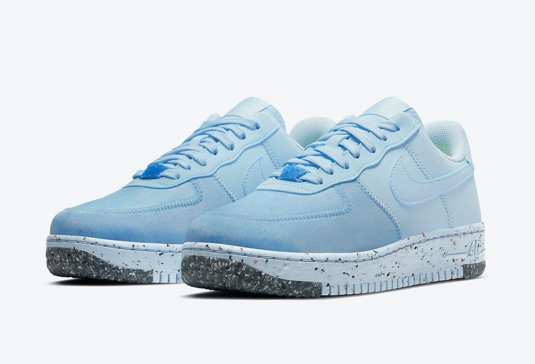 Nike Air Force 1 Crater Foam Chambray Blue CT1986-400 Release Date Info