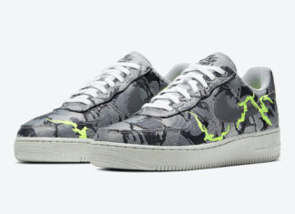 Nike Air Force 1 Low Grey Green CV1725-001 Release Date Info