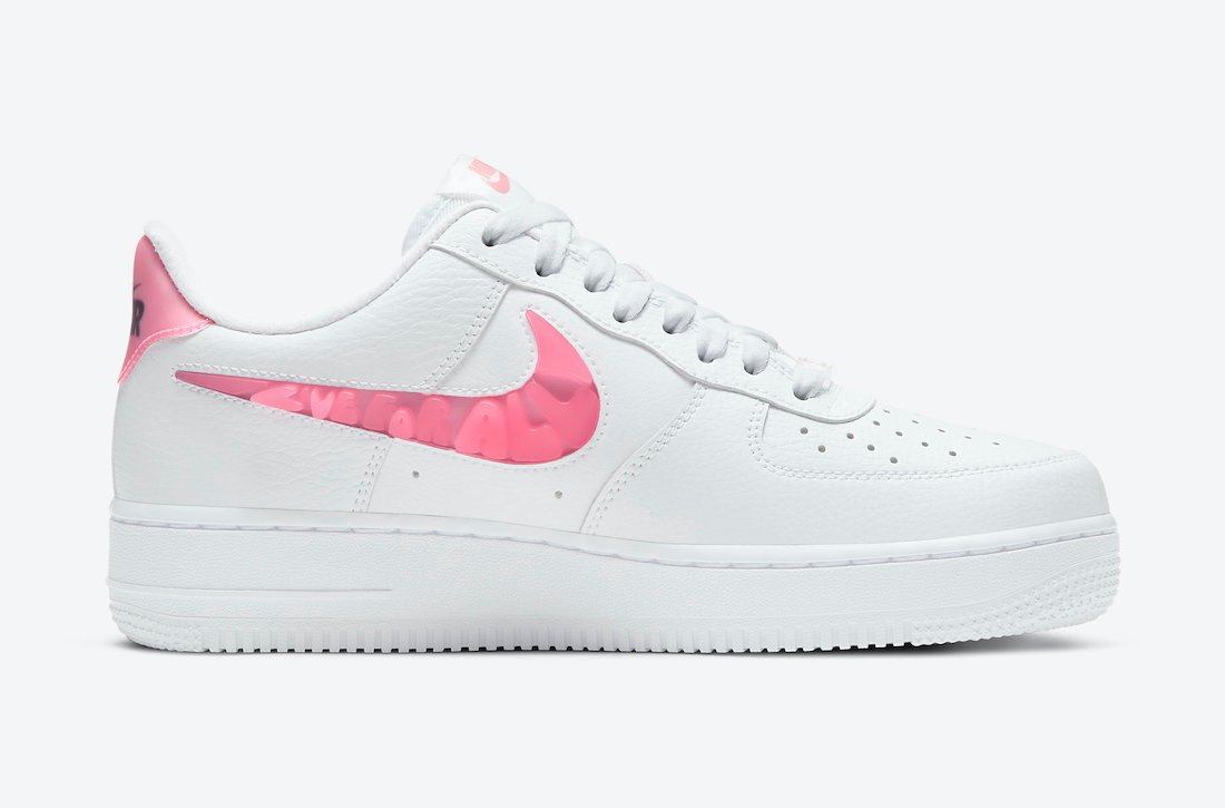Nike Air Force 1 Low Love For All CV8482-100 Release Date Info