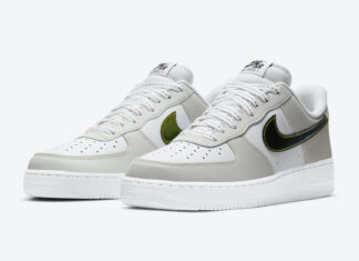 Nike Air Force 1 Low Metallic Summit White DC9029-100 Release Date Info