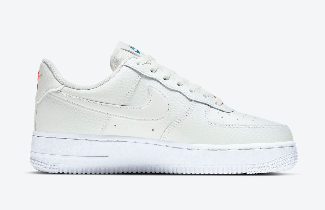Nike Air Force 1 Low Summit White Solar Red CT1989-101 Release Date Info