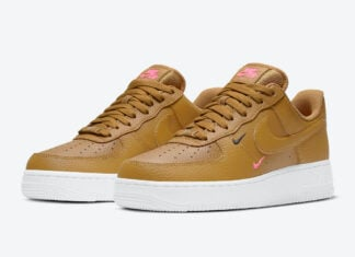 Nike Air Force 1 Low Wheat Pink CT1989-700 Release Date Info