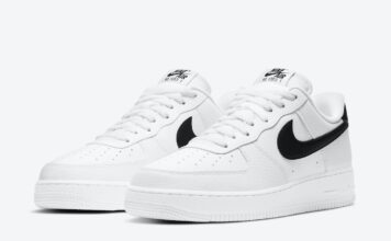 Nike Air Force 1 Low White Black CT2302-100 Release Date Info