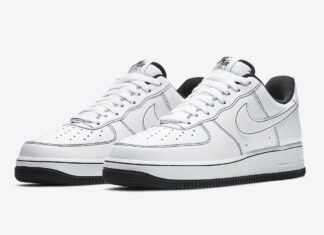 Nike Air Force 1 Low White Black CV1724-104 Release Date Info