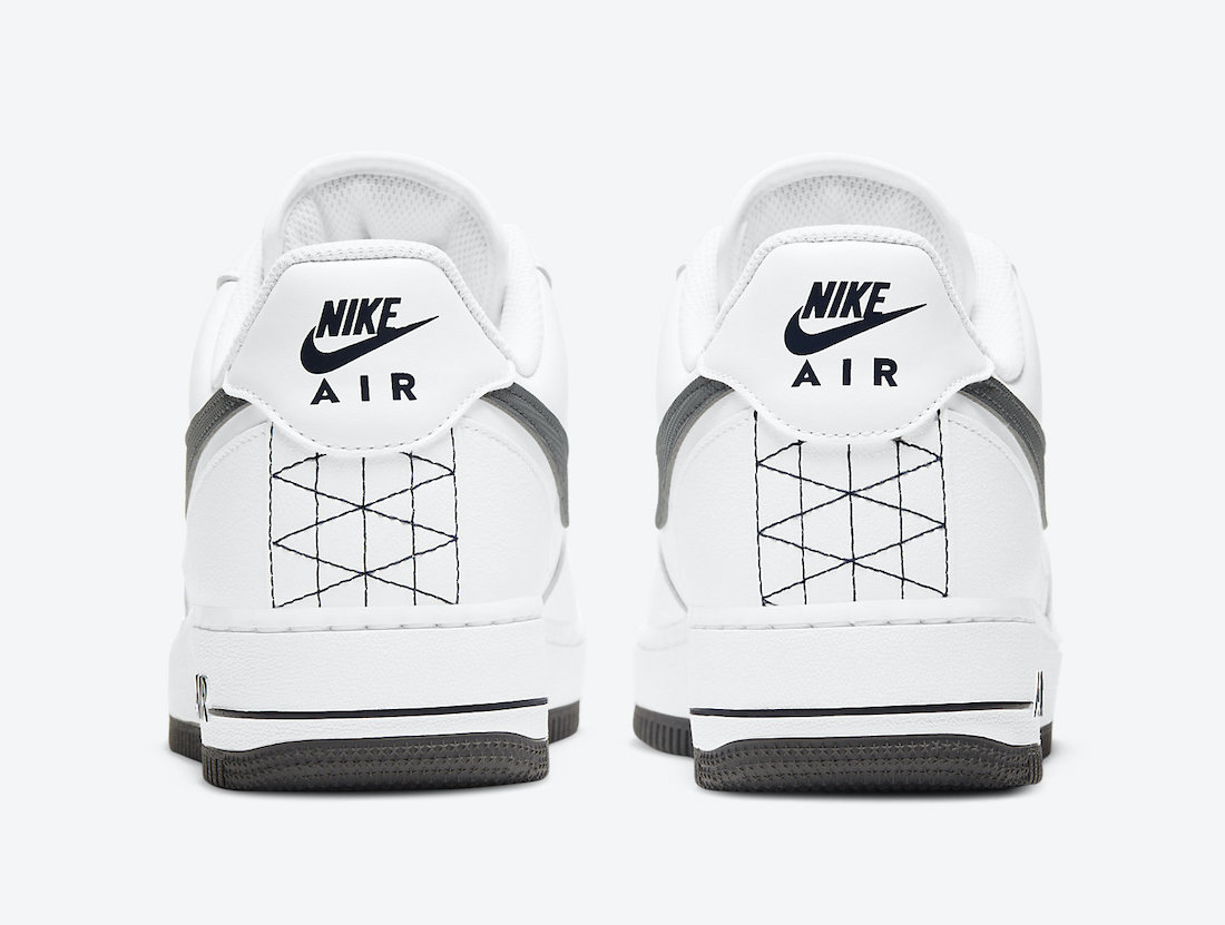 Nike Air Force 1 Low White Grey DD7113-100 Release Date Info