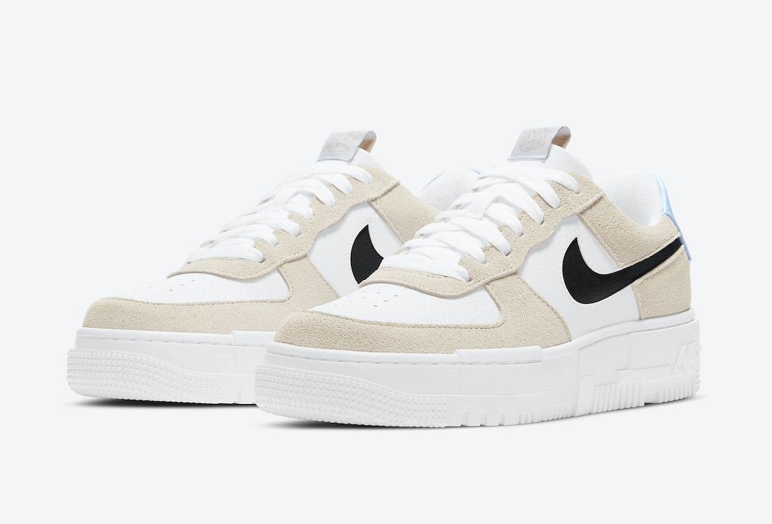 Nike Air Force 1 Pixel Desert Sand DH3861-001 Release Date Info