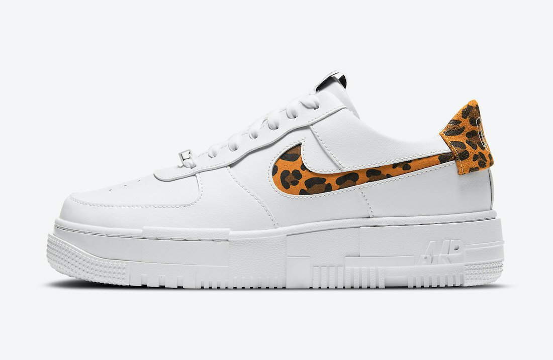 Nike Air Force 1 Pixel Leopard CV8481-100 Release Date Info