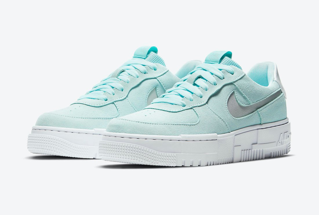 Nike Air Force 1 Pixel Mint Green DH3855-400 Release Date Info