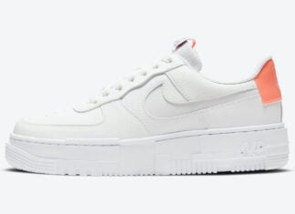 Nike Air Force 1 Pixel White Salmon Pink DH3860-100 Release Date Info