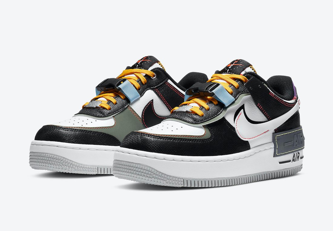 Nike Air Force 1 Shadow Fresh Perspective DC2542-001 Release Date Info