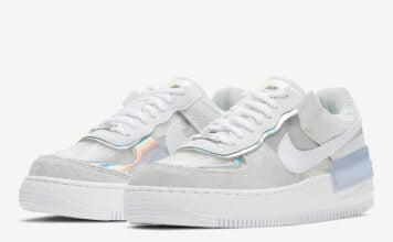 Nike Air Force 1 Shadow Pure Platinum DC5255-043 Release Date Info